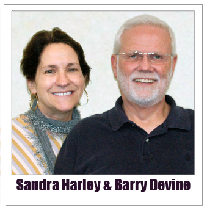 Barry Devine and Sandra Harley Hungry Howie Polaroid