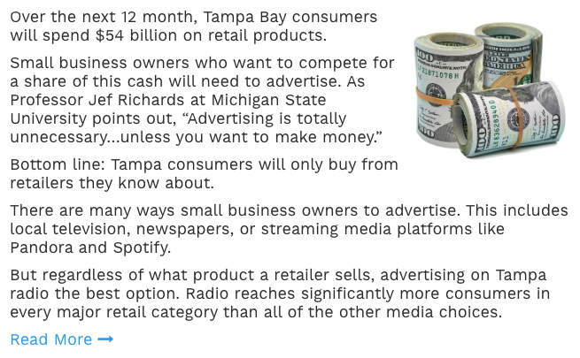 Best Way To Advertise In Tampa Bay 2019