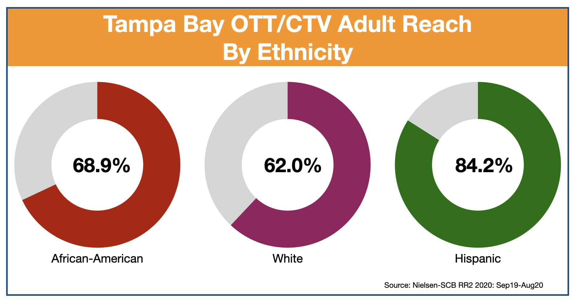 Streaming Video Advertising Tampa Bay Ethnicity