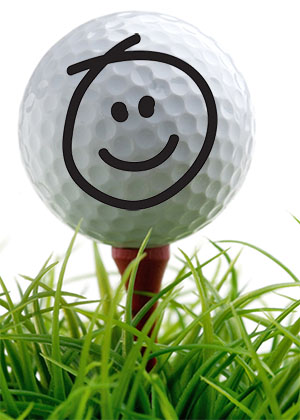300 px golf tee ball grassshutterstock_73721266